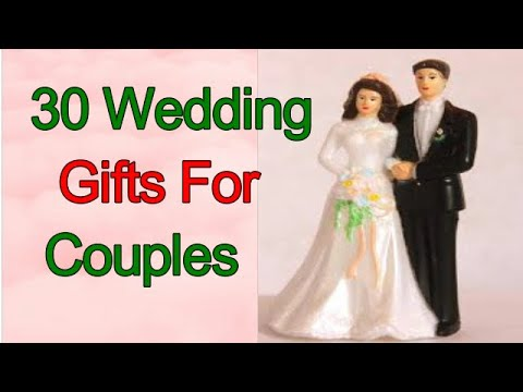 30 Wedding Gifts For Couples,wedding gift ideas for bride and groom,#gift#wedding#freind#couple