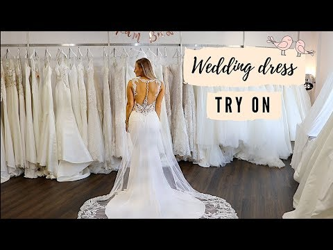 WEDDING DRESS SHOPPING TRY-ON HAUL!! BEST DAY EVER!!!